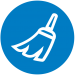 cleaning circle icon